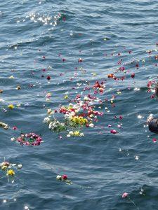Gedenkfahrt auf der Ostsee von Seebestattung Rügen