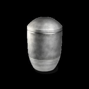 Bestattungsurne Wave Silber Silber